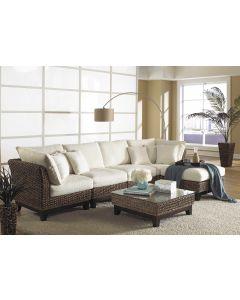 Panama Jack Sanibel 6PC Sectional Set with Cushions
