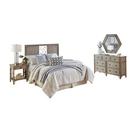 Vancouver 4 Pc Twin Bedroom Set Triple Dresser