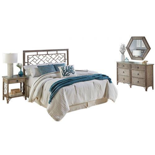 Calgary 4 Pc King Bedroom Set
