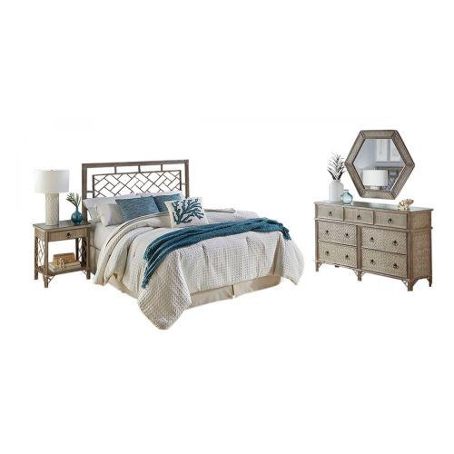 Calgary 4 Pc Twin Bedroom Set - Triple Dresser