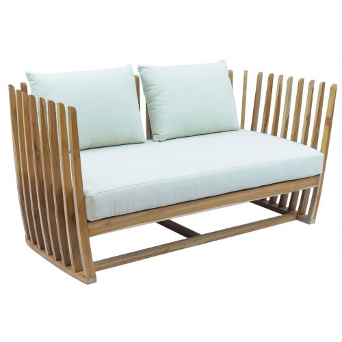 Conway Teak Sofa with Cushions
