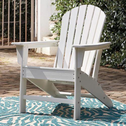 Sundown Treasure Outdoor Adirondack Chair White