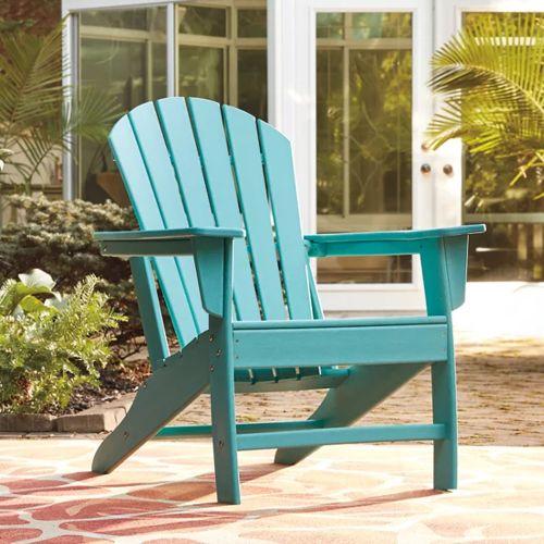 Sundown Treasure Outdoor Adirondack Chair Turquoise