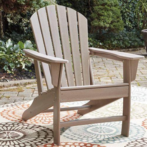 Sundown Treasure Outdoor Adirondack Chair Taupe