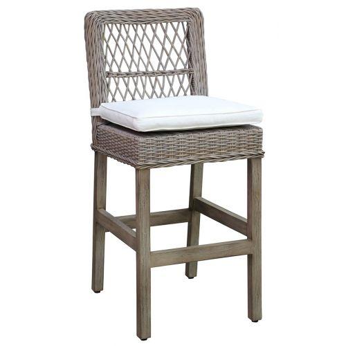Panama Jack Seaside Barstool with Cushion