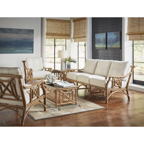 Panama Jack Plantation Bay 5 PC Living Set with Cushions