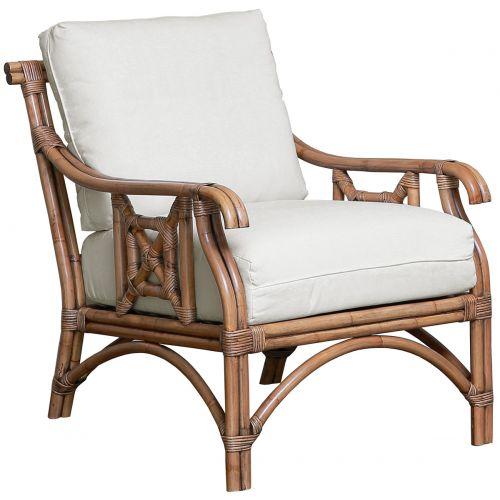 Panama Jack Plantation Bay Lounge chair with Cushions