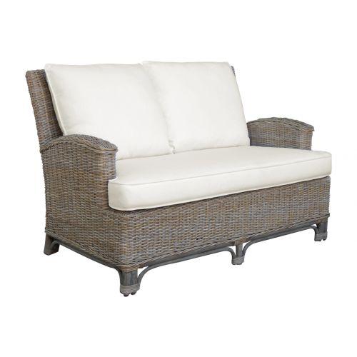 Panama Jack Exuma Loveseat with Cushions